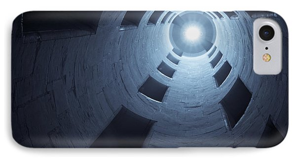 Chateau De Chambord Double Staircase IPhone Case by Sebastian Musial