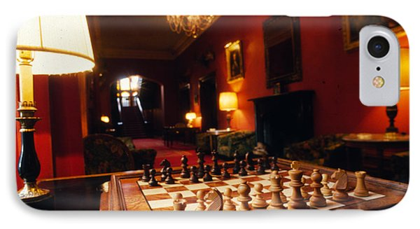 Check Mate At Dromoland IPhone Case by Carl Purcell