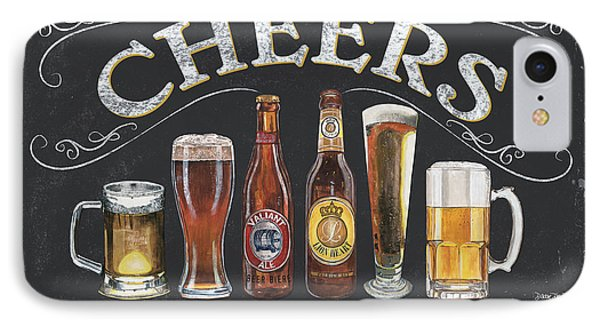 Cheers  IPhone 7 Case by Debbie DeWitt