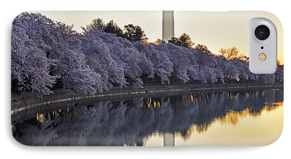 Cherry Blossom Festival - Washington Dc IPhone Case by Brendan Reals