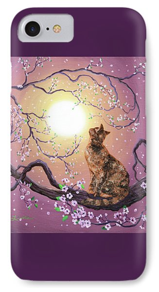 Cherry Blossom Waltz  Phone Case by Laura Iverson