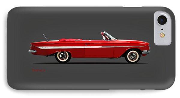 Chevrolet Impala Ss 409 IPhone Case by Mark Rogan