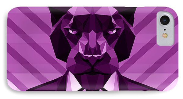 Chevron Panther IPhone Case by Filip Aleksandrov