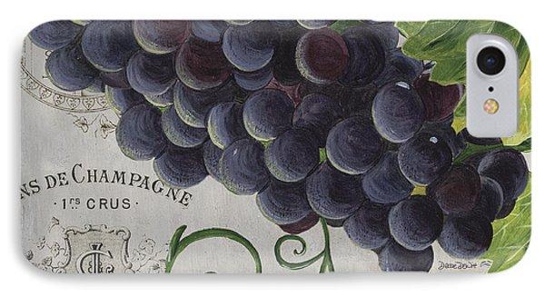 Vins De Champagne 2 IPhone 7 Case by Debbie DeWitt