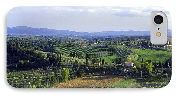 Chianti Region In Italy Phone Case by Gregory Ochocki and Photo Researchers