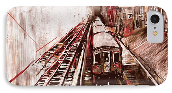 Chicago 214 3 IPhone Case by Mawra Tahreem