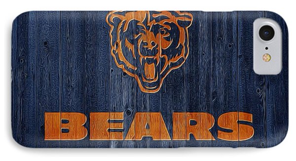 Chicago Bears Barn Door IPhone Case by Dan Sproul