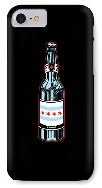 Chicago Beer IPhone 7 Case by Mike Lopez