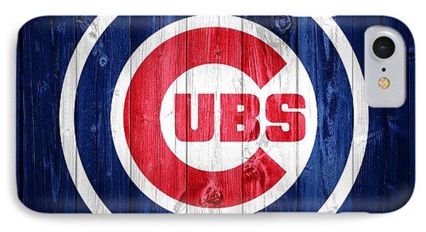 Chicago Cubs Barn Door IPhone Case by Dan Sproul