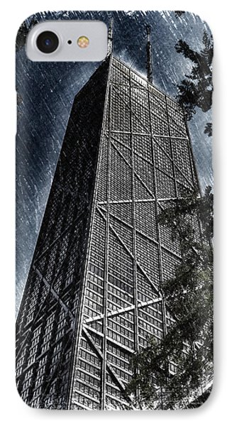 Chicago John Hancock In June Pa 01 IPhone Case by Thomas Woolworth