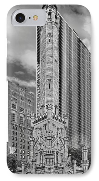 Chicago - Old Water Tower IPhone Case by Christine Till