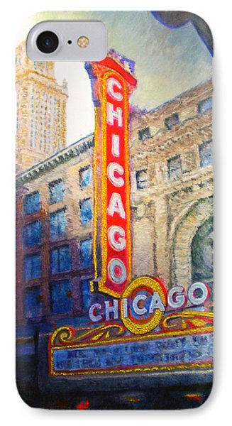 Chicago Theater Phone Case by Michael Durst