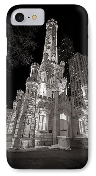 Chicago Water Tower IPhone Case by Adam Romanowicz