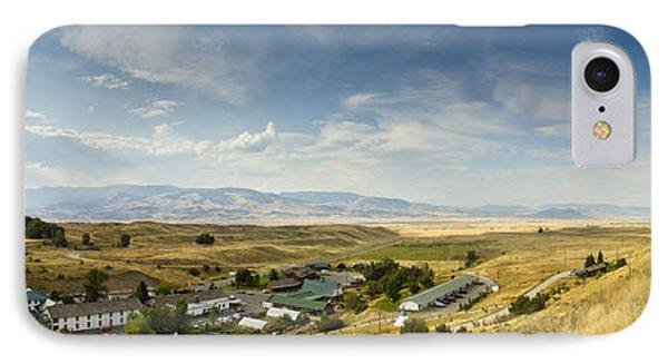 Chico Hot Springs Pray Montana Panoramic IPhone Case by Dustin K Ryan