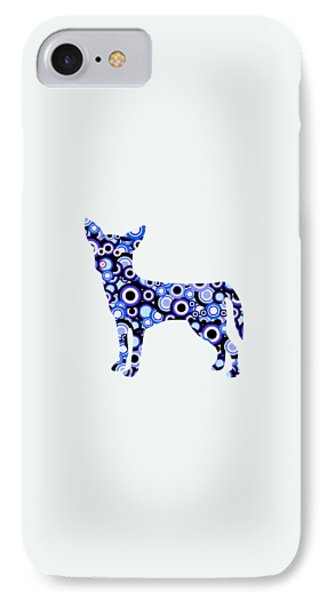 Chihuahua - Animal Art IPhone Case by Anastasiya Malakhova