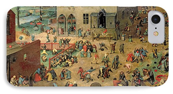 Children's Games IPhone Case by Pieter the Elder Bruegel