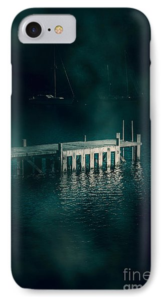 Chilling Wood Mooring IPhone Case by Jorgo Photography - Wall Art Gallery
