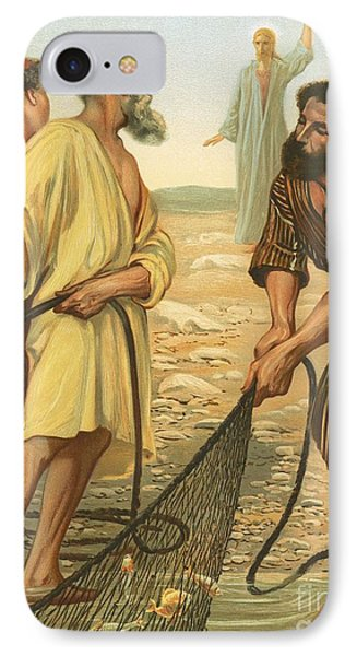 Christ Calling The Disciples IPhone Case by Philip Richard Morris