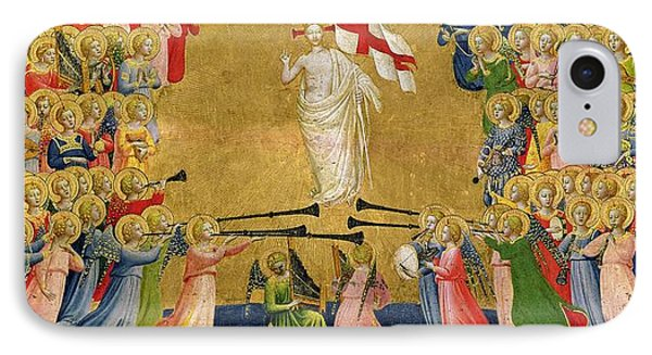 Christ Glorified In The Court Of Heaven Phone Case by Fra Angelico