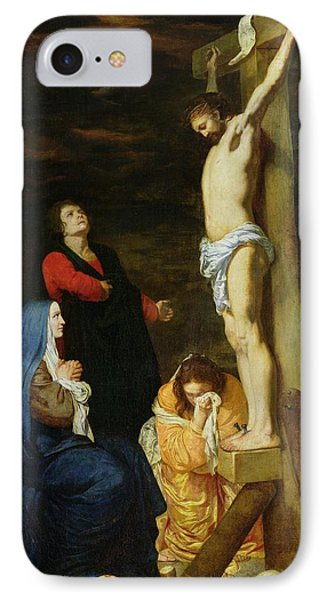 Christ On The Cross Phone Case by Gerard de Lairesse