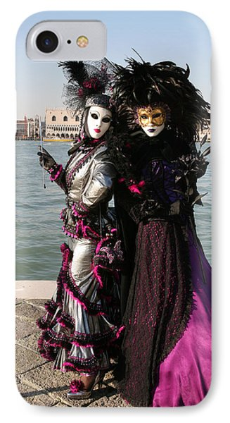 Christine And Gunilla Across St. Mark's  Phone Case by Donna Corless