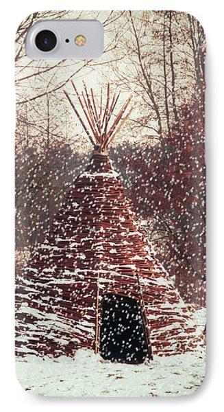 Christmas Tent Phone Case by Wim Lanclus