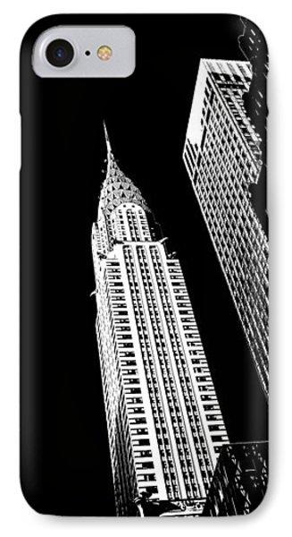 Chrysler Nights IPhone 7 Case by Az Jackson