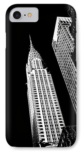 Chrysler Nights IPhone Case by Az Jackson