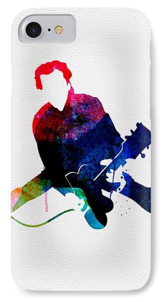 Chuck Watercolor IPhone Case by Naxart Studio