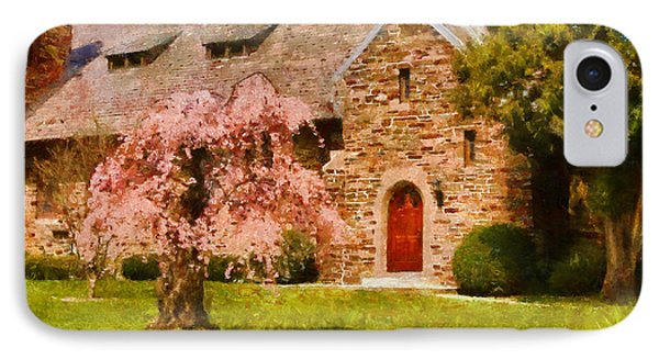 Church - Heaven Created Phone Case by Mike Savad