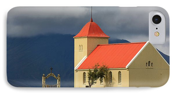 Church At Kolbeinsstadir  IPhone Case by Henk Meijer Photography