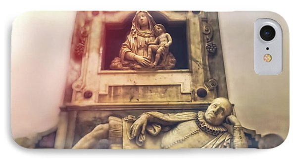 Church Interior IPhone Case by HD Connelly