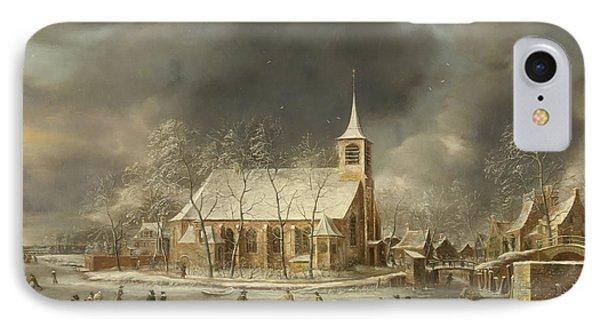 Church Of Sloten 2 IPhone Case by Roy Pedersen