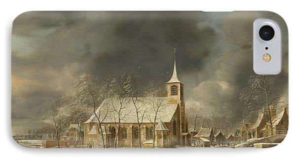 Church Of Sloten  IPhone Case by Roy Pedersen
