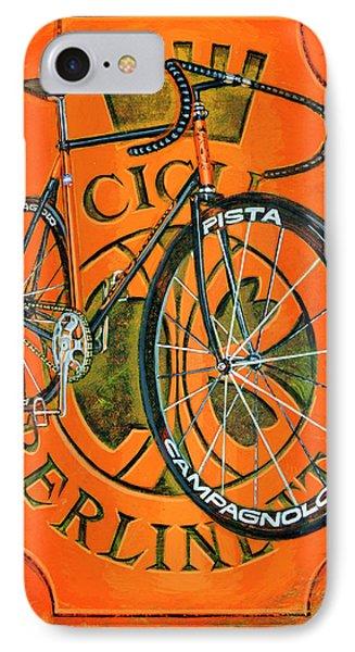 Cicli Berlinetta IPhone Case by Mark Howard Jones