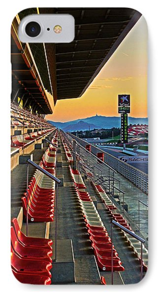 Circuit De Catalunya - Barcelona  Phone Case by Juergen Weiss