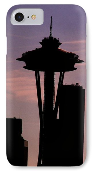 City Needle IPhone Case by Tim Allen