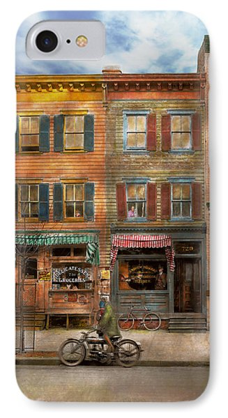 City - Washington Dc - Ghosts Of The Past 1925 IPhone Case by Mike Savad