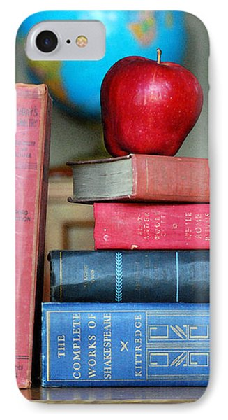 Classic Book Cover Phone Cases : Classic books with apple photograph by catherine sherman