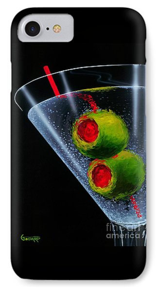 Classic Martini IPhone Case by Michael Godard