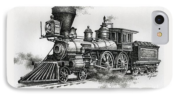 Classic Steam IPhone 7 Case by James Williamson