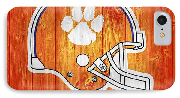 Clemson Barn Door IPhone Case by Dan Sproul