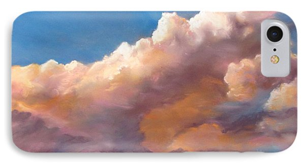 Clouds Over The Island IPhone Case by Jack Skinner