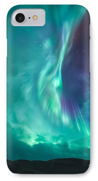 Clouds Vs Aurorae IPhone Case by Tor-Ivar Naess