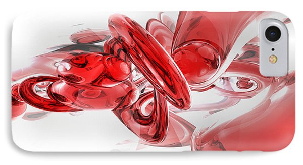 Coagulation Abstract IPhone Case by Alexander Butler