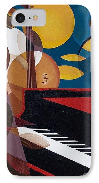 Cobalt Jazz IPhone Case by Kaaria Mucherera
