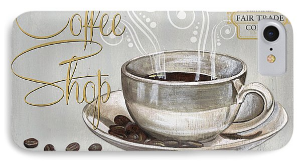 Coffee Shoppe 2 IPhone Case by Debbie DeWitt
