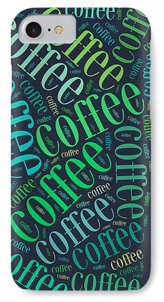 Coffee Time IPhone Case by Bill Cannon