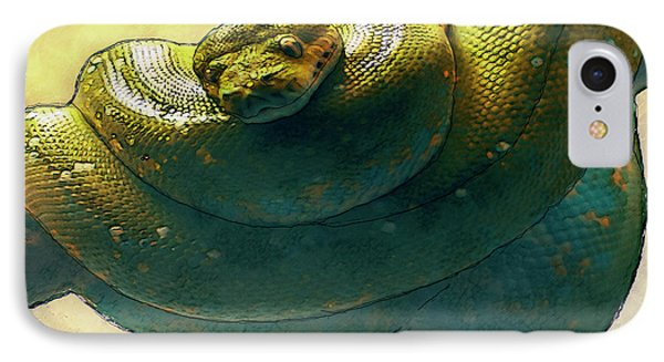 Coiled IPhone Case by Jack Zulli