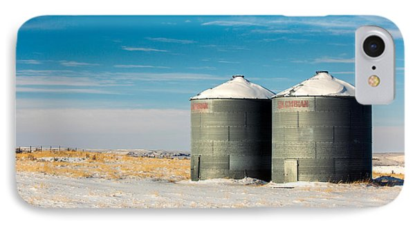 Cold Bins IPhone Case by Todd Klassy